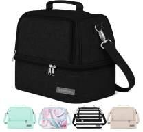 Simple Modern 8L Myriad Lunch Bag for Women & Men - Black Insulated Kids Lunch Box - Midnight Black
