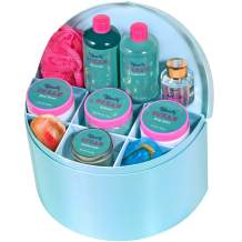 Spa Gift Baskets for Women - 10pc Ocean Bath Set with Delicate Case - Includes Shower Gel, Body Lotion & More - Valentine's Day, Mother's Day Gift Set Idea