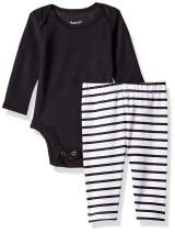 Hanes Ultimate Baby Flexy 2 Piece Set (Pant with Long Sleeve Bodysuit)