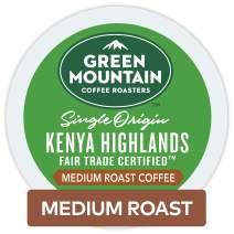 Green Mountain Coffee Roasters Kenya Highlands, Single-Serve Keurig K-Cup Pods, Medium Roast Coffee, 96 Count