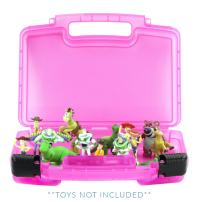 Life Made Better Toy Storage Carrying Box. Compatible with Toy Story Figures ,Figures Playset Organizer. Accessories for Kids by LMB