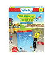 Skillmatics Educational Game: Transport Off We Go (3-6 Years)| Erasable and Reusable Activity Mats | Travel Friendly Toy with Dry Erase Marker | Learning tools for Kids 3, 4, 5, 6 Years