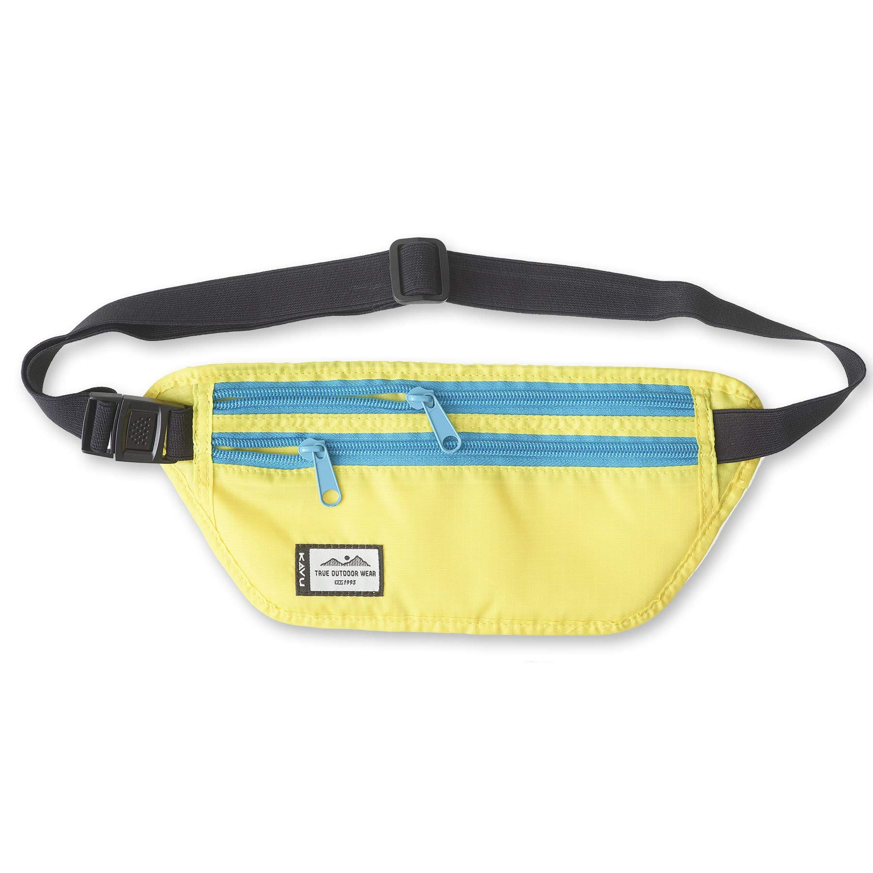 KAVU Hideaway Belt Bag Water Resistant Fanny Pack for Running, Hiking, and Travelling