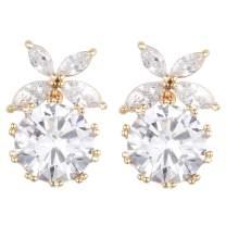 JFEELE Dangle Earrings for Women Cubic Zirconia Hypoallergenic Drop Earrings