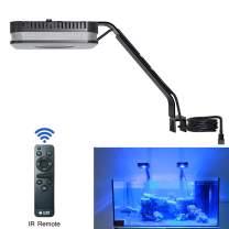 Lominie LED Aquarium Light, Saltwater Freshwater Fish Tank Light for Coral, Planted Nano Aquarium Tank (P80 Marine)
