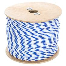 GOLBERG G Twisted Polypropylene Pool Rope - Various Sizes and Lengths - 3-Strand Polypro Cord - Lightweight Utility Rope - Landlines, Safety Lines, Pool Lanes - Blue and White