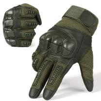 WTACTFUL Army Military Tactical Touch Screen Full Finger Gloves for Motorcycle Motorbike Hunting