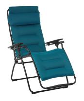 Lafuma LFM3120-6893 Futura Air Comfort Folding Recliner, Coral Blue