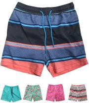 INGEAR Little Boys Quick Dry Beach Board Shorts Kids Swim Trunk Swimsuit Beach Shorts Swim Trunk for Boys