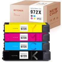 MYTONER Remanufactured Ink Cartridge Replacement for HP 972X 972A High Yield Ink for PageWide Pro 477dn 477dw 577dw 577z 552dw 452dn 452dw Printer (Black Cyan Maganta Yellow,4-Pack)