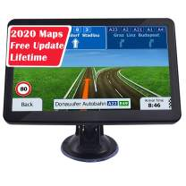 GPS Car Navigation, 7-inch Display 256MB-8GB Real Voice Broadcast Route US 2020 Map (Free Map Update for Life)