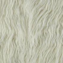 Shannon Faux Fur Mongolian Off White