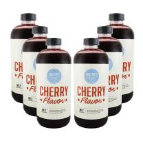 Hires Big H Cherry Syrup, Rich Cherry Flavor Great for Soda Flavoring and so much more 18 oz - 6 Pack