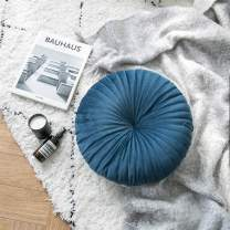 Icegrey Nordic Round Chair Cushion Throw Pillow for Couch Sofa Bed Pillow Blue Diameters 15.7""