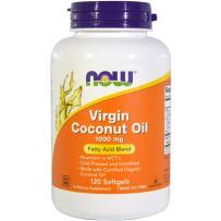 Now Foods Virgin Coconut Oil 120 ct (Pack of 2)