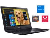 "Acer Aspire 3 Notebook, 15.6"" HD, AMD Quad-Core Ryzen 5 2500U Upto 3.6GHz, 8GB RAM, 512GB SSD, Radeon Vega 8, HDMI, Card Reader, Wi-Fi, Bluetooth, Windows 10 Pro"
