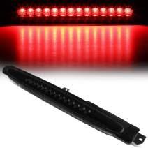 Full LED Tinted Housing 3rd Third Brake Light Center High Mount Stop Lamp Replacement for Trailblazer/Envoy 02-09