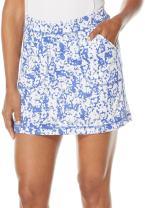 """PGA TOUR Women's 16"""" Floral Camo Print Knit Skort with Contour Waist"""