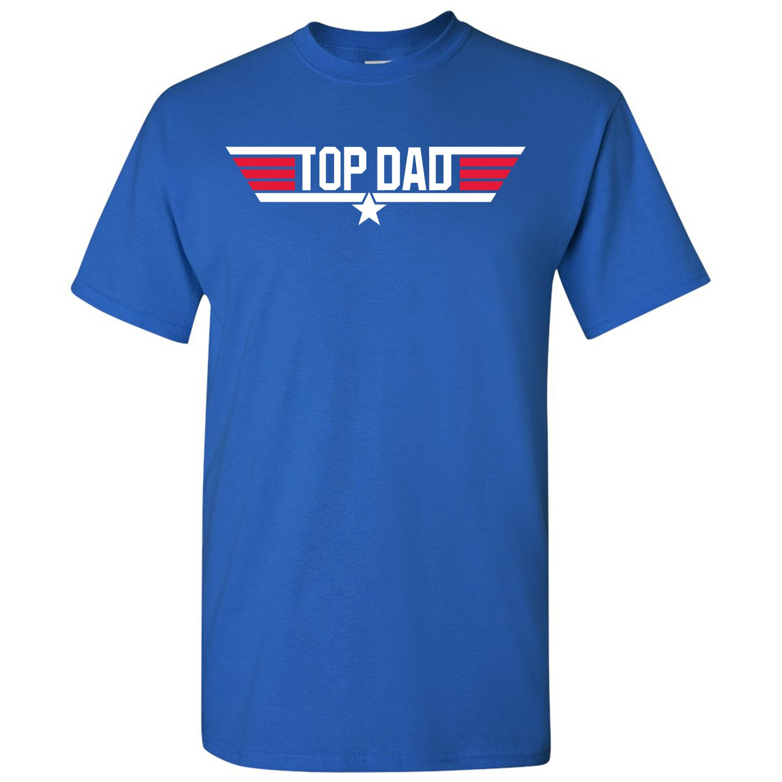 Top Dad - Father's Day, Papa, Pops, Grandfather - Adult Men's Cotton T-Shirt
