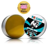 NO GUNK 100% Natural Styling Wax/Pomade for Hair & Beard - Medium Hold - Natural & Organic Ingredients - Styling Funk - Winner, Best Male Hair Product 2018, PURE Beauty Global Awards (Unscented, 50g)
