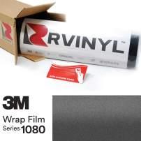 3M 1080 S261 Satin Dark Gray 5ft x 29ft W/Application Card Vinyl Vehicle Car Wrap Film Sheet Roll