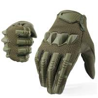 YOSUNPING Tactical Full Finger Gloves Touchscreen for Motorcycle Hiking Cycling Climbing