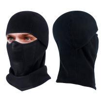 hikevalley Ski Mask, Balaclava Face Mask Breathable Cycling Skiing Hood