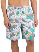 NEFF Men's Daily Hot Tub Board Shorts for Swimming