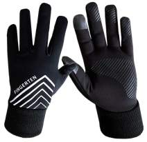 Winter Gloves Men Women Running Cycling Warm Touch Screen with Free Earband Pack