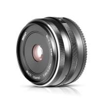 MEKE 28mm f2.8 APS-C Fixed Manual Focus Lens for Sony E Mount Mirrorless Camera NEX 3 3N 5 NEX 5T NEX 5R NEX 6 7 A6400 A5000 A5100 A6000 A6100 A6300 A6500
