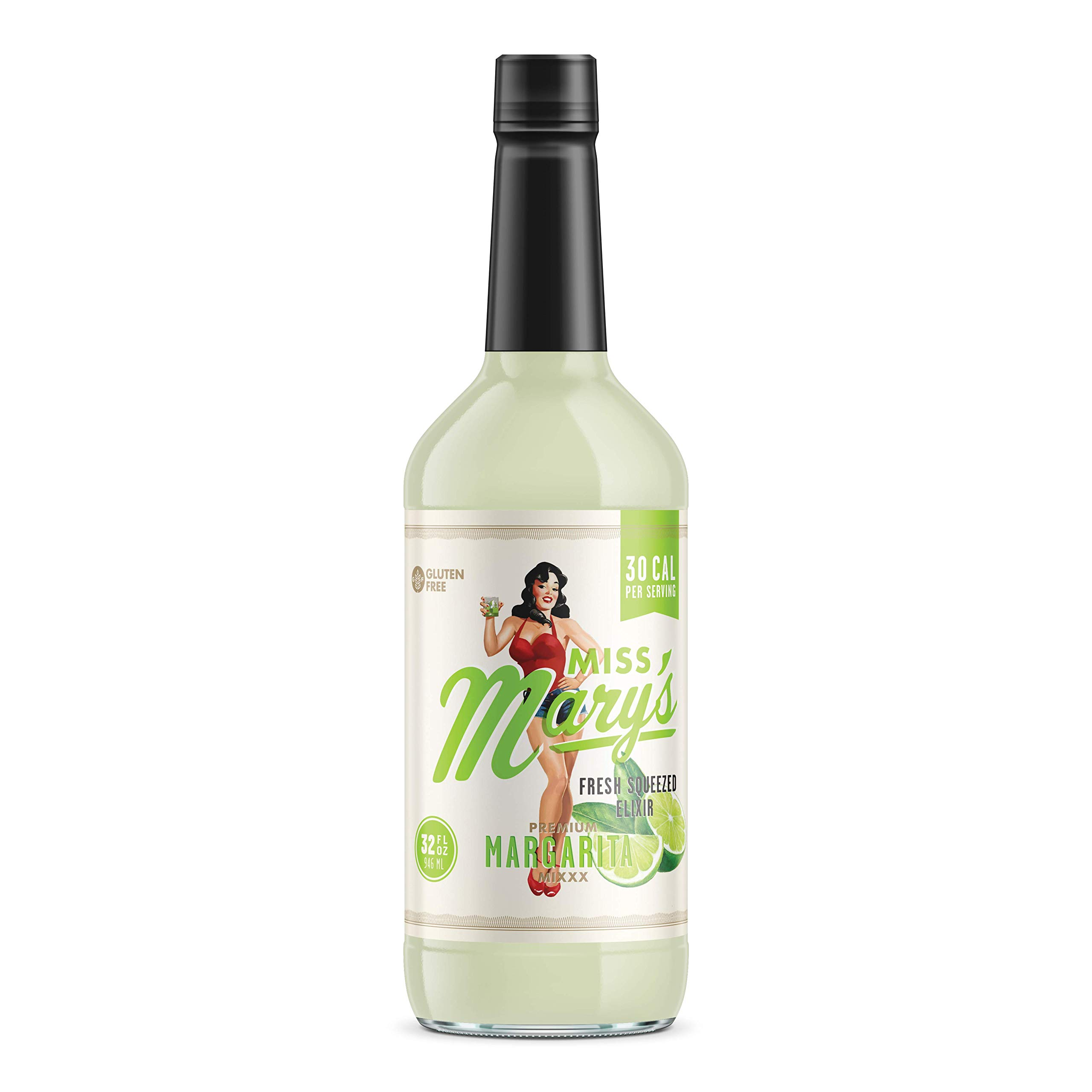 Miss Mary's Fresh Squeezed Margarita Mix   Low Sugar and Carbohydrates   Big Flavor   Clean Label (4)