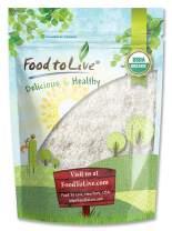 Organic Shredded Coconut, 1 Pound - Desiccated, Unsweetened, Non-GMO, Kosher, Raw, Vegan, Bulk