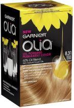 Garnier Oil Powered Permanent Haircolor, 8.31 Medium Golden Blonde 1 ea (Pack of 3)