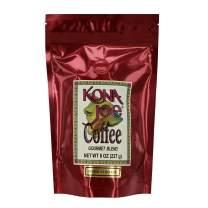 Kona Joe Gourmet Coffee Blend, Medium Roast Ground Coffee (8 oz)