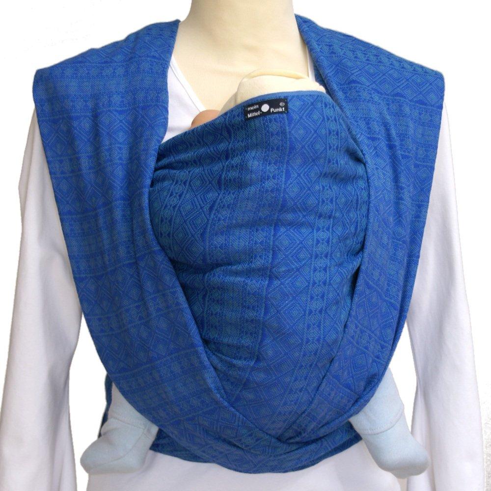 DIDYMOS Woven Wrap Baby Carrier Prima Ultramarin (Organic Cotton), Size 8