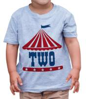 7 ate 9 Apparel Boy's Birthday Two Circus T-Shirt