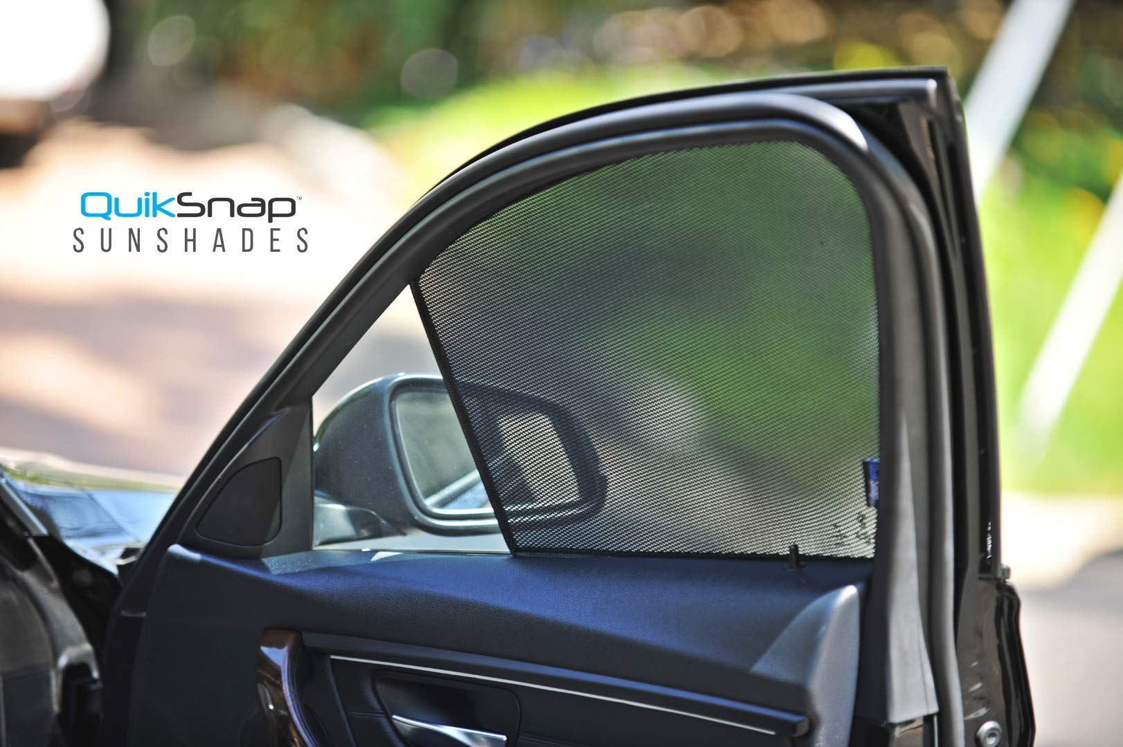 QuikSnap sunshades - Custom Side Window sunshades (Set of 4) (Compatible with Toyota Avalon 2013-2018)