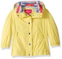 LONDON FOG Girls' Toddler Lightweight Jersey Lined Windbreaker Jacket