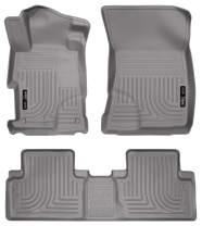Husky Liners Fits 2012-13 Honda Civic 4 Door Weatherbeater Front & 2nd Seat Floor Mats
