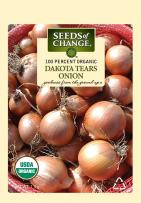 Seeds of Change 06457 Certified Organic Seed, Dakota Tears Onion