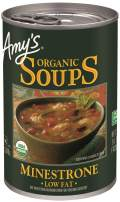 Amy's Organic Minestrone Soup, Low Fat, Vegan, 14.1-Ounce