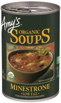 Amy's Organic Minestrone Soup, Low Fat, Vegan, 14.1-Ounce