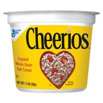 General Mills LR/D CEREAL CHEERIOS CEREAL IN A CUP 60 CASE 1.3 OUNCE, 1.3-ounces (Pack of60)