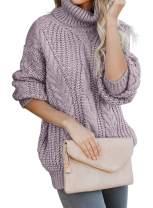 Acelitt Womens Casual Winter Long Sleeve Knit Sweater Pullover Jumper
