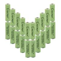 BAOBIAN AA NiCd 800mAh 1.2v Double A Rechargeable Battery for Outdoor Solar Lights,Garden Lights, Remotes, Mice(20 PCS)