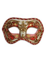 Venetian Eye Mask Colombina Cordone for Men and Women