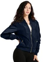 NE PEOPLE Womens Classic Quilted Various Styles Bomber Jacket Coat (S-3XL)