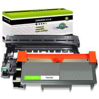 GREENCYCLE TN660 TN-660 DR630 Black Toner Cartridge Drum Unit Replacement Compatible for Brother DCP-L2520DW DCP-L2540DW HL-L2360DW HL-L2380DW MFC-L2700DW MFC-L2740DW Laser Printer (1 Toner, 1 Drum)