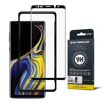 GPEL Screen Protector for Galaxy Note 9 Premium Japanese Asahi Tempered Glass with Easy Installation, Case-Friendly, HD Clarity, Real Tempered Glass, 9H Hardness