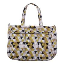 JuJuBe Super Be Large Everyday Lightweight Zippered Tote Bag, Classic Collection - Olive Juice